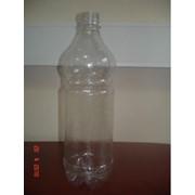 ПЭТ бутылка прозр, 1,0 литр фото