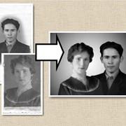 Реставрация старых фотографий в Алматы фото