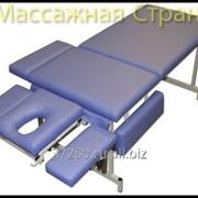 Стационарный массажный стол Профи люкс фото