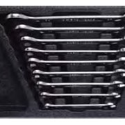 Набор ключей рожковых (6‑27 мм) в ложементе, 9 предметов Т40593 фото