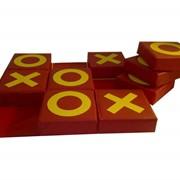 Конструктор мягкий напольный Игра Крестики нолики квадратики фото