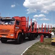 Автопоезд сортиментовозный КАМАЗ 43118-RF с ОМТЛ-70.02