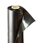 Пленка полиэтиленовая черная 80 мкм ширина 3 м / рукав 1,5 м (100 м) фото