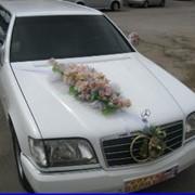 Украшения для свадебных автомобилей фото