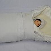 """Одежда для новорожденных - Комплект модель """"Litl Marche"""" на выписку два варианта фото"""