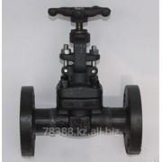 Вентиль запорный фланцевый стальной J41H-25 LY (РУ-25) Стандарт GB, Ду 65 мм, Масса 27,5 кг, Длинна 290 мм фото