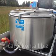 Мобильная молочная ванна на прицепе с испарительной системой охлаждения First RS 550 фото