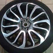 Восстановление колесных дисков машины фото