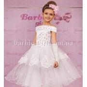 Нарядное детское платье 14-0085 фото