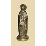 Скульптура Преподобного Сергия Радонежского фото