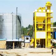 Стационарный асфальтобетонный завод АБЗ С80, производительностью 80 тонн/час фото