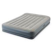 Кровать-Матрас Intex 64118 Mid-Rise Airbed со встроенным насосом (203х152х30) фото