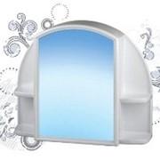 Шкафчик зеркальный Орион(белый мрамор) (1/4) фото