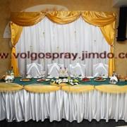 Оформление зала для свадьбы фото