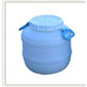 Бидон неокрашенный из полиэтилена 25л. для холодных пищевых продуктов (ХПП) фото