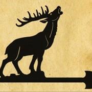 Флюгеры в виде диких и мифических животных фото