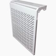 Экран на радиатор метал декоративный 4-х секц 390х610х150мм фото