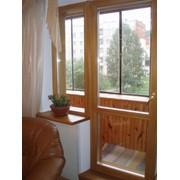 Балконная дверь (Террасная одностворчатая поворотно-откидная) фото
