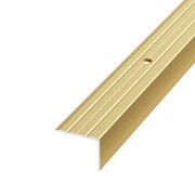 ЛУКА Порог угловой ПУ 03-900-02л золото анодир-е (0,9м) 18х24мм фото