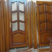 Виготовлення дверей сосна,дуб львів фото