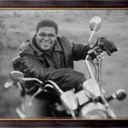 Картина Мотоциклист, Неизвестен фото