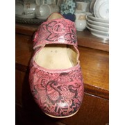 Обувь с росписью ручной работы фото