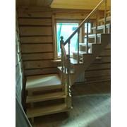 Лестницы Г-образные фото