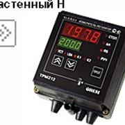 Измеритель ПИД-регулятор для управления задвижками и трехходовыми клапанами с автоматической настройкой и интерфейсом RS-485 ОВЕН ТРМ212 фото