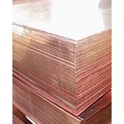 Лист медный 35х600х1500 М1 фото