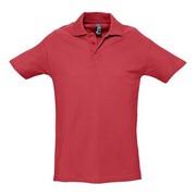 Рубашка поло мужская SPRING 210 красная, размер L фото