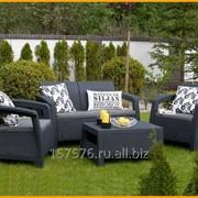 Садовая мебель (ротанг), хозблоки, сараи фото