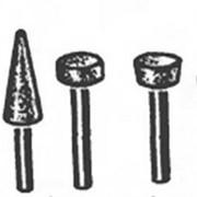 Абразивные головки 10х10х3 25А без хвостовика фото