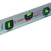 Уровень ЗУБР 40см (алюминиевый, усиленный, 2 глазка + 1 поворотный 360 градусов) фото