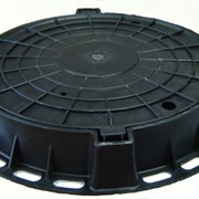 Люк полимерно-песчаный тип ТМ 83 кг фото