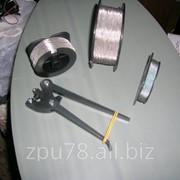 Проволока витая нержавеющая сталь 0,6мм-0,8мм. фото