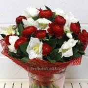 Букет искусственных цветов фото