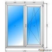 Пластиковые окна 1300*1300 спец.цены фото