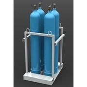 Контейнер для кислородных баллонов КГБ-04 фото