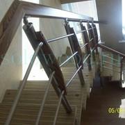 Лестницы из сосны,дуба фото