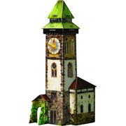Игровой набор из картона . Башня с часами.Артикул: 277 фото