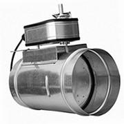 Заслонка воздушная с площадкой под электрический привод КВК 315 фото