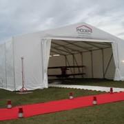 Тент Storage tent S75-Alu 17.5м h350 фото