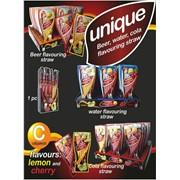 """Quick Unique Cola -Трубочки для Колы (пива и воды) """"Квик Уник Кола"""" (лимон,вишня), 6шт."""