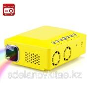 Портативный мини проектор DLP - 0.3 дюйма DMD, 150 люмен, 1000:1 контраст фото