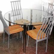 Стеклянная мебель и элементы интерьера фото