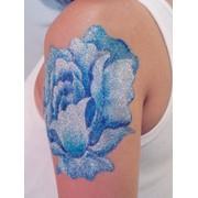 Блестящие, бриллиантовые татуировки фото