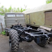 Грузовой автомобиль ГАЗ-66 шасси. фото