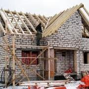 Строительство загородных домов, Строительные работы фото