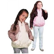 Ветровка для девочки светло-розовая фото