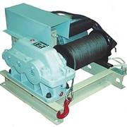 Лебедка электрическая тяговая ТЛ-12Б (0, 25тс) фото